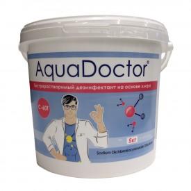 Дезинфектант на основе хлора быстрого действия AquaDoctor C-60T