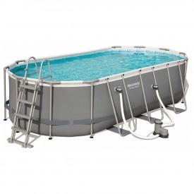Каркасный бассейн Bestway 56710 (549х274х122) с картриджным фильтром