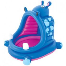 Детский надувной бассейн Bestway 52218 (112х99х97) Гиппопотам