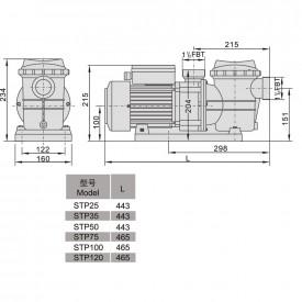 Насос AquaViva LX STP120M