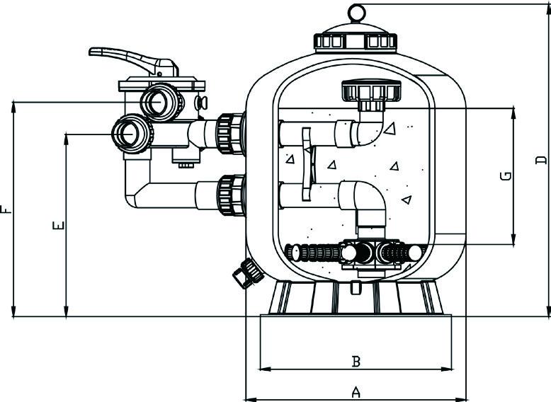 Фильтр Aquaviva SP500