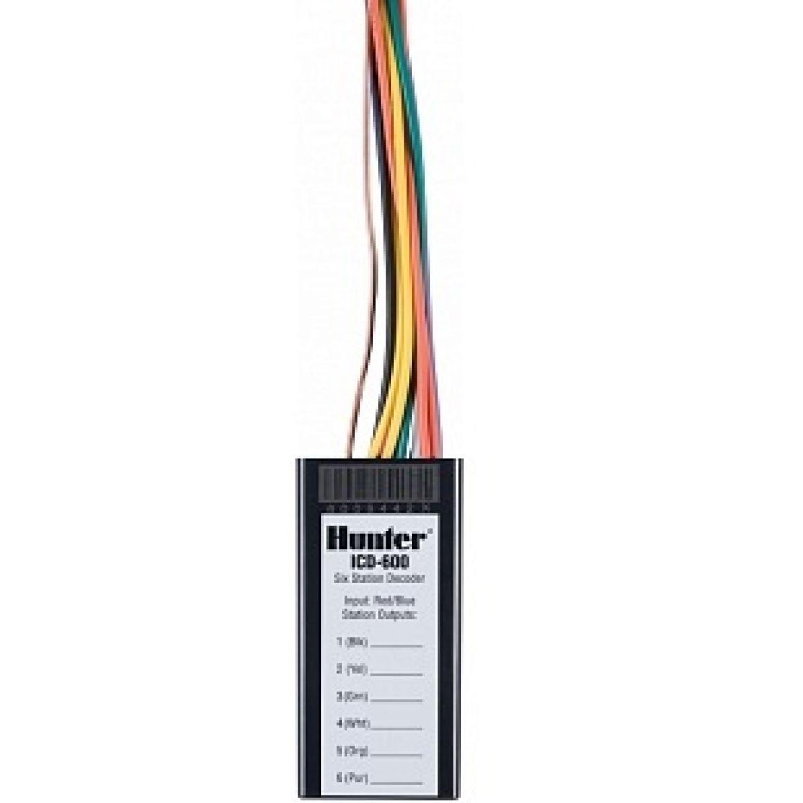 ICD-600 декодер на 6 зон (Hunter)