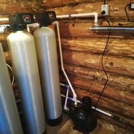 Установка очистки воды из скважины