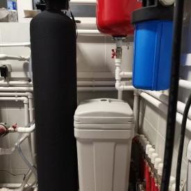 Установка умягчения воды со скважины